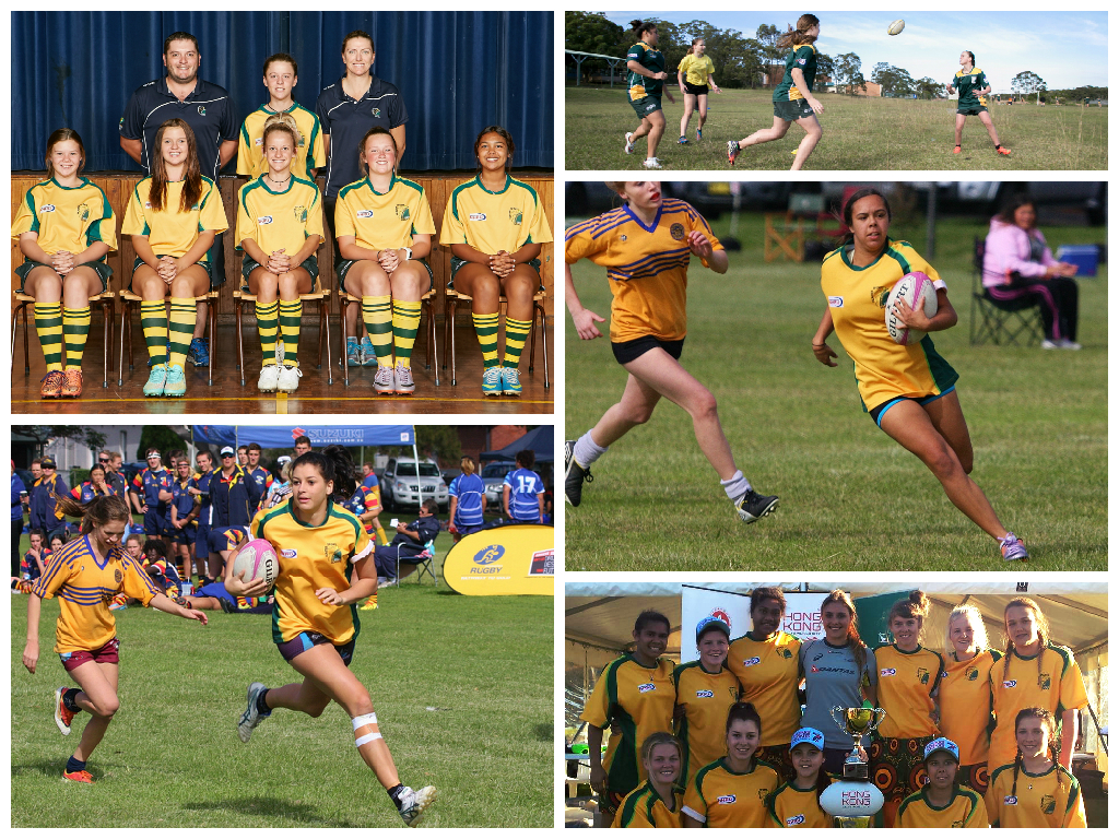 Girls Rugby Union Photos