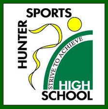 Hunter Sports High School logo
